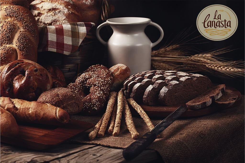 Healthy and organic breads